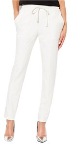Parker Summer Trouser Capris White