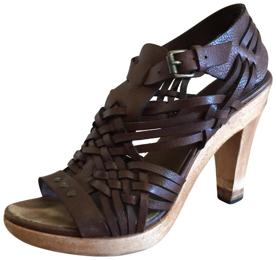 871ed4f1dd8 MICHAEL Michael Kors Gladiator Sandal Summer High Heel Brown Platforms ...