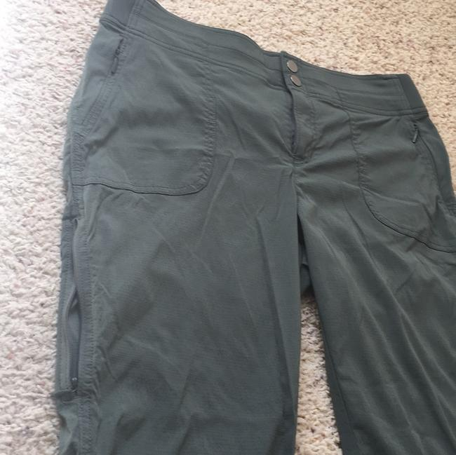 Athleta Capris Green