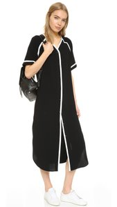 Black Maxi Dress by APIECE APART Tory Burch Tibi Dvf Rachel Zoe Isabel Marant