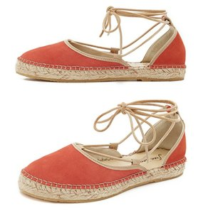 Free People Coral Flats