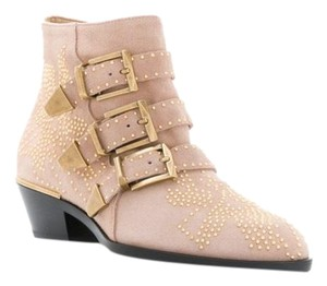 Chloé Pale Rose Boots