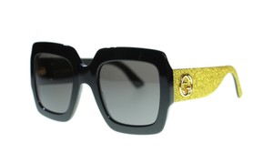 Gucci New Gucci GG0102S Square Womens Sunglasses