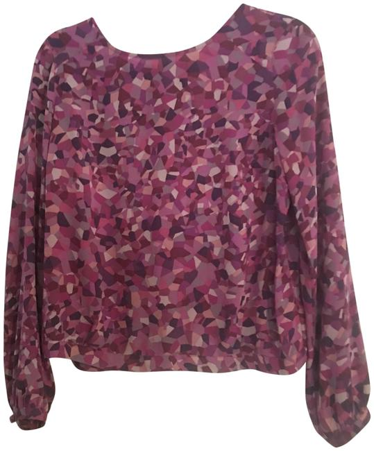 CAbi Top purple, pink