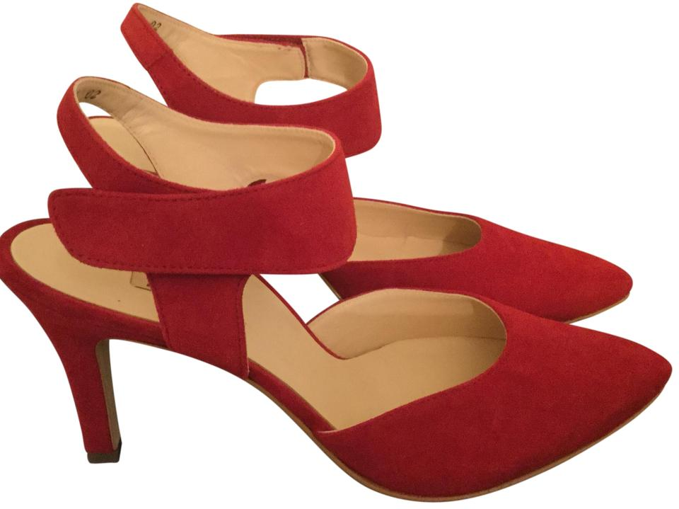 Paul Green Red Pointy Nicolette Pointy Red Toe Pumps 2743e4