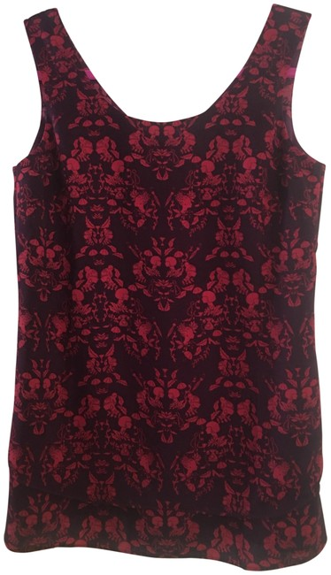 Preload https://img-static.tradesy.com/item/23357413/cabi-raspberry-black-style-3258-cameo-from-2016-fall-collection-blouse-size-2-xs-0-1-650-650.jpg