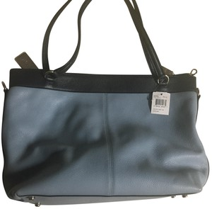 Coach Tote in blue/baby blue