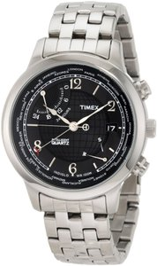 Timex Timex Male Fashion Watch T2N610 Silver Analog