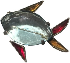 Vintage Vintage Early Jelly Belly Colorful Fish Brooch Pin