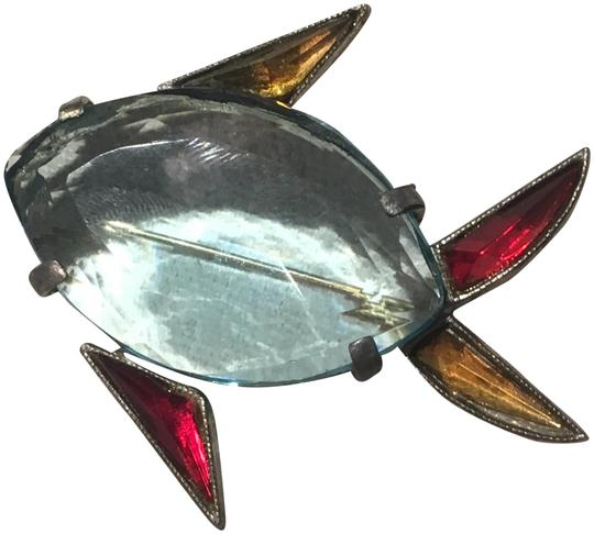 Preload https://img-static.tradesy.com/item/23357488/blue-early-jelly-belly-colorful-fish-brooch-pin-0-1-540-540.jpg