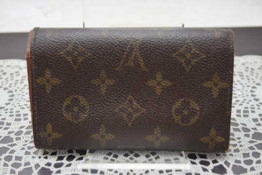 Louis Vuitton Authentic Louis Vuitton Wallet Porte Monnaie Tresor