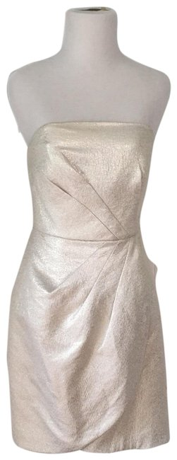 Preload https://img-static.tradesy.com/item/23357673/shoshanna-light-silver-metallic-short-cocktail-dress-size-4-s-0-1-650-650.jpg