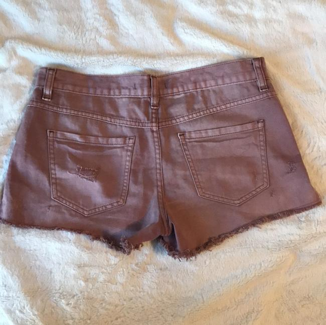Free People Cut Off Shorts Rosey mauve
