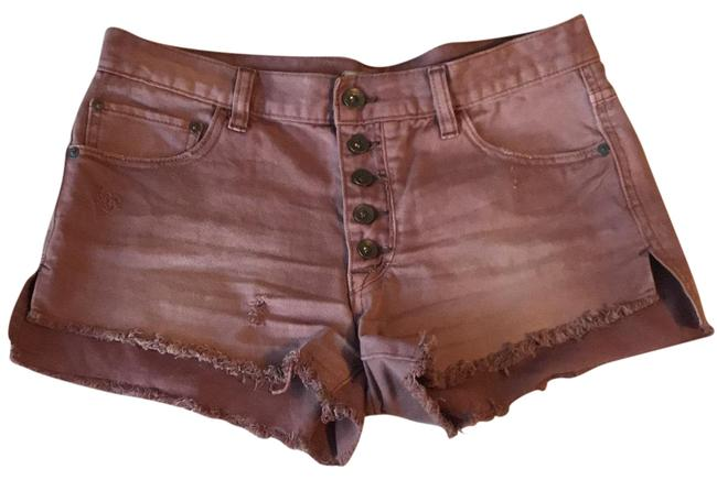 Item - Rosey Mauve Distressed Shorts Size 4 (S, 27)