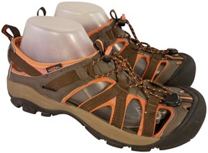 Keen Waterproof Sport coral and brown Sandals