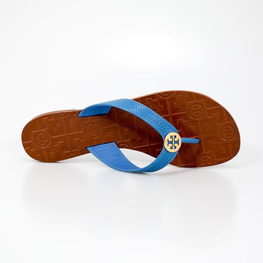 Tory Burch 190041700905 43089 Chambray/Gold Sandals