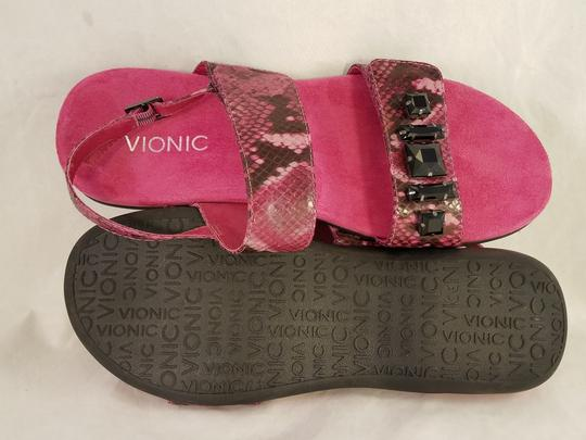 Vionic Wedge PINK Sandals