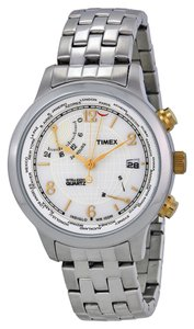 Timex Timex Male Fashion Watch T2N613 Silver Analog