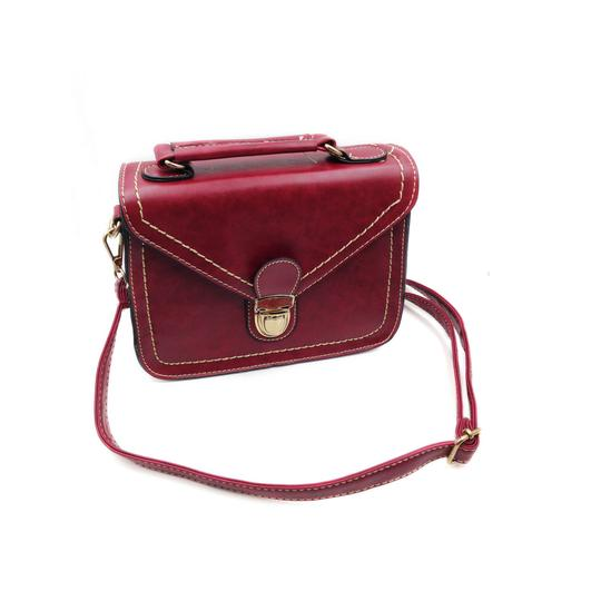 Preload https://img-static.tradesy.com/item/23358047/restore-ancient-ways-small-purse-red-faux-leather-shoulder-bag-0-0-540-540.jpg