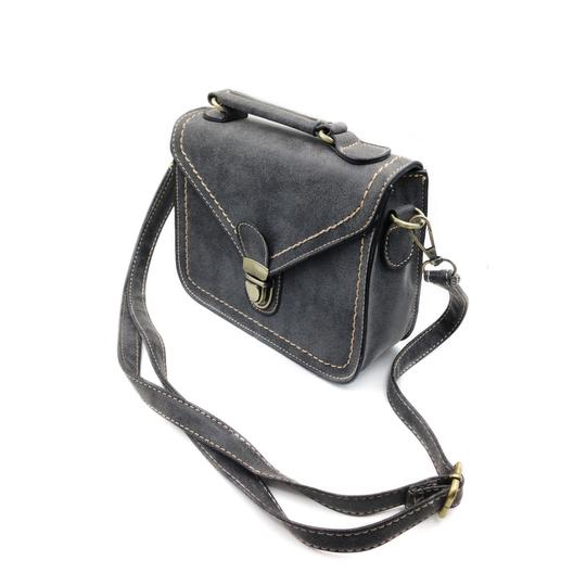 Preload https://img-static.tradesy.com/item/23358082/restore-ancient-ways-small-purse-matted-black-faux-leather-shoulder-bag-0-0-540-540.jpg
