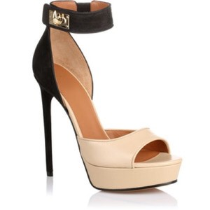 Givenchy Black, Nude Platforms