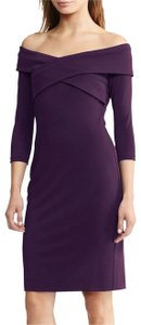 Ralph Lauren Off The Shoulder Sheath Dress