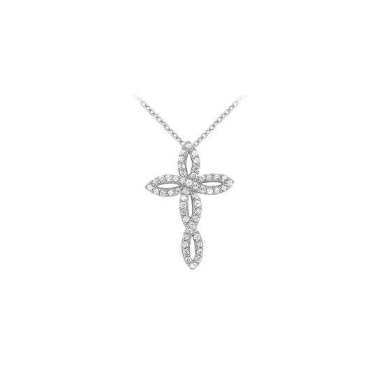 Preload https://img-static.tradesy.com/item/23358471/white-silver-april-birthstone-cubic-zirconia-twisted-cross-pendant-in-925-sterling-necklace-0-0-540-540.jpg