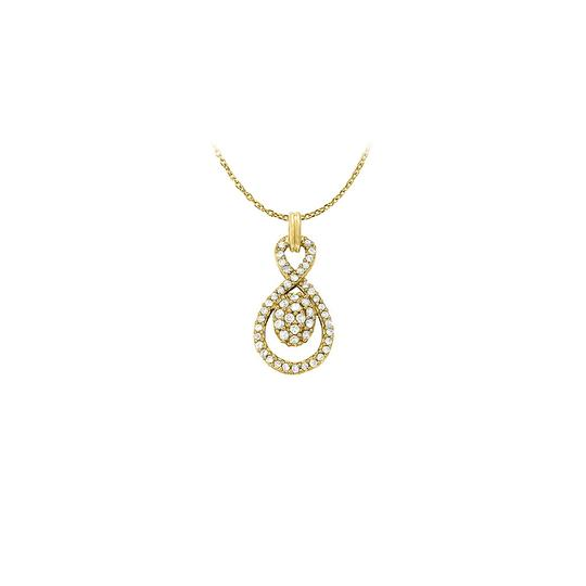 Preload https://img-static.tradesy.com/item/23358768/white-yellow-stunningly-pretty-cubic-zirconia-pendant-gold-vermeil-with-free-16-inc-necklace-0-0-540-540.jpg
