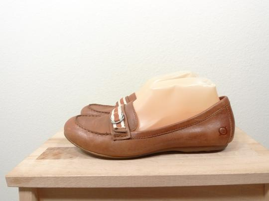 Brn Leather BROWN Flats