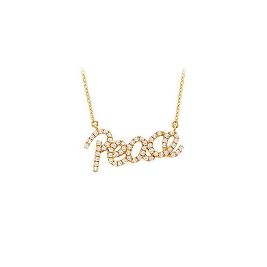 Preload https://img-static.tradesy.com/item/23358864/white-yellow-gold-vermeil-cubic-zirconia-peace-pendant-033-ct-tgw-necklace-0-0-540-540.jpg