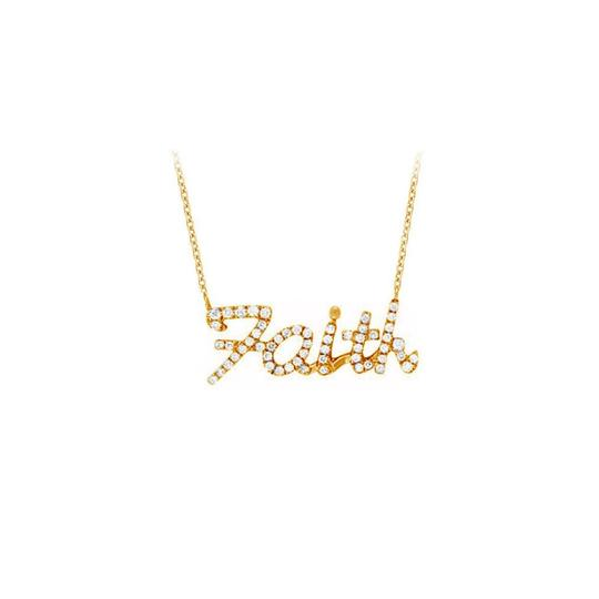 Preload https://img-static.tradesy.com/item/23358875/white-yellow-gold-vermeil-round-cubic-zirconia-faith-pendant-necklace-0-0-540-540.jpg