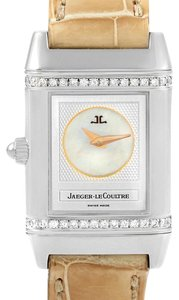 Jaeger-LeCoultre Jaeger LeCoultre Reverso Duetto Ladies Steel Diamond Watch 266.8.44