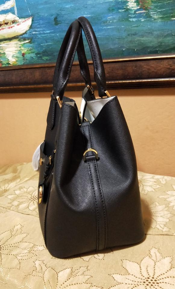 e05a9924941c Michael Kors Tote Greenwich Grab Shoulder Satchel in BLACK Image 11.  123456789101112