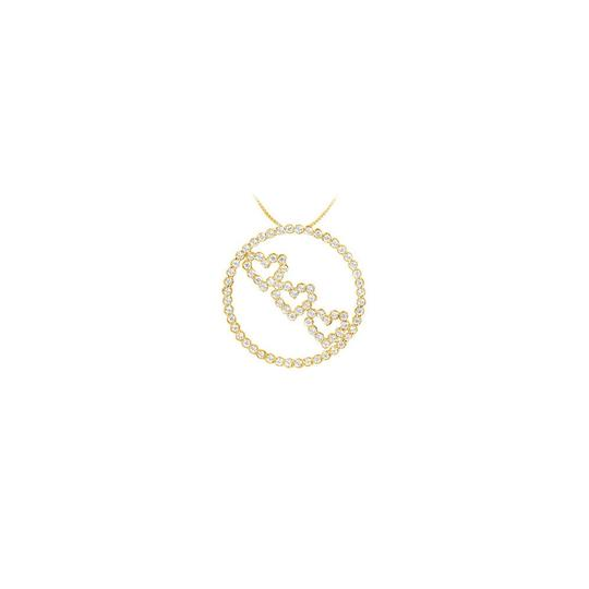 Preload https://img-static.tradesy.com/item/23359027/white-yellow-cz-circle-and-heart-pendant-over-gold-vermeil-sterling-silver-125-ct-necklace-0-0-540-540.jpg
