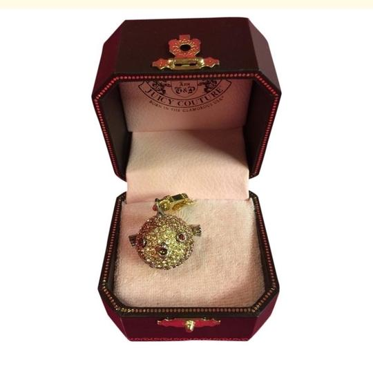 Juicy Couture NEW JUICY COUTURE RARE STUNNING PAVE PUFFER BLOW FISH CHARM!