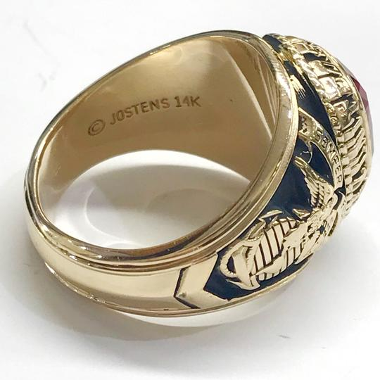 Other LIKE NEW!! 14 Karat Yellow Gold United States Marine Corp Ring 25 grams CAN BE SIZED! Size 13
