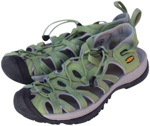 Keen Whisper 9.5 Women's green Sandals