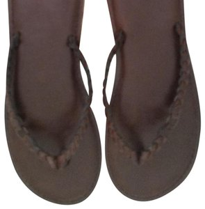 Abercrombie & Fitch Deep brown Sandals