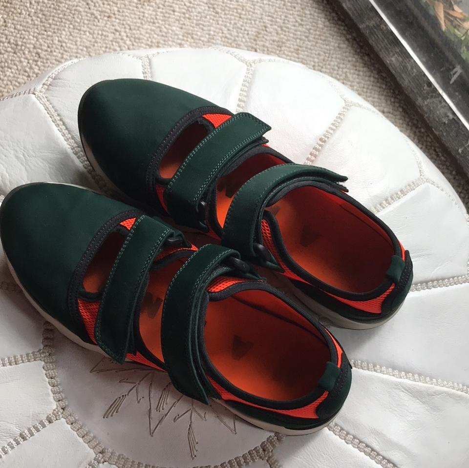 Orange Green Dark and Sneakers Marni qatA7W0