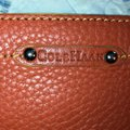 Cole Haan Burnt Orange Pebbled Leather Wristlet Wallet Cole Haan Burnt Orange Pebbled Leather Wristlet Wallet Image 4