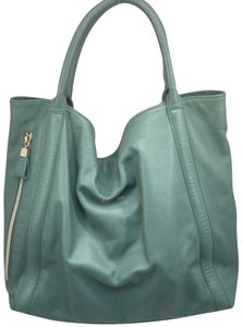 See by Chloé Leather Tote in Beryl Green
