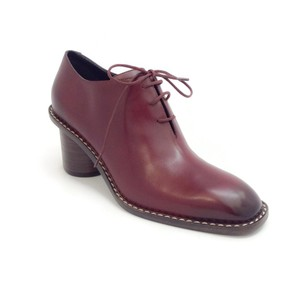 Céline Burgundy Pumps