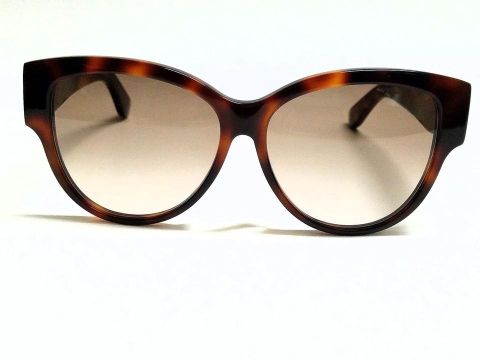 a6a56d59101 Saint Laurent Havana Brown Sl M3/F 005 Havana/Brown Lens 57mm New Sunglasses  - Tradesy