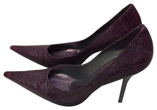 BCBGeneration Dark Plum Pumps