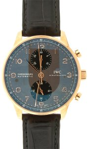 IWC IWC Portuguese Chronograph IW371482, 18k Rose Gold, Box & Papers 2014