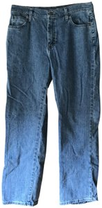 Lee Relaxed At The Waist 5-pocket Cotton/Spandex Machine Washable Straight Leg Jeans-Medium Wash