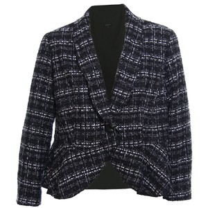 Jones New York Black & Ivory Jacket