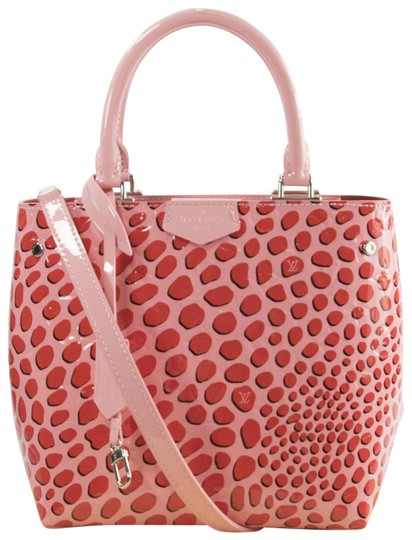 Preload https://img-static.tradesy.com/item/23361139/louis-vuitton-limited-edition-monogram-vernis-jungle-dots-tote-sugar-pink-poppy-patent-leather-satch-0-1-540-540.jpg