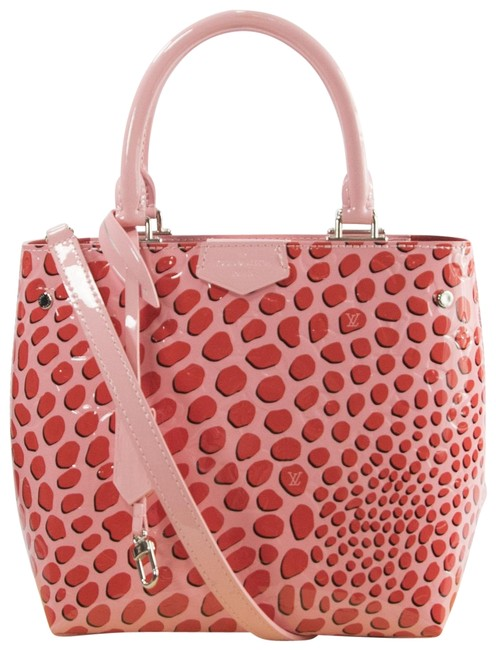 Louis Vuitton Open Limited Edition Monogram Vernis Jungle Dots Tote Sugar Pink Poppy Patent Leather Satchel Louis Vuitton Open Limited Edition Monogram Vernis Jungle Dots Tote Sugar Pink Poppy Patent Leather Satchel Image 1