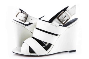 Modern Vintage * White Wedges